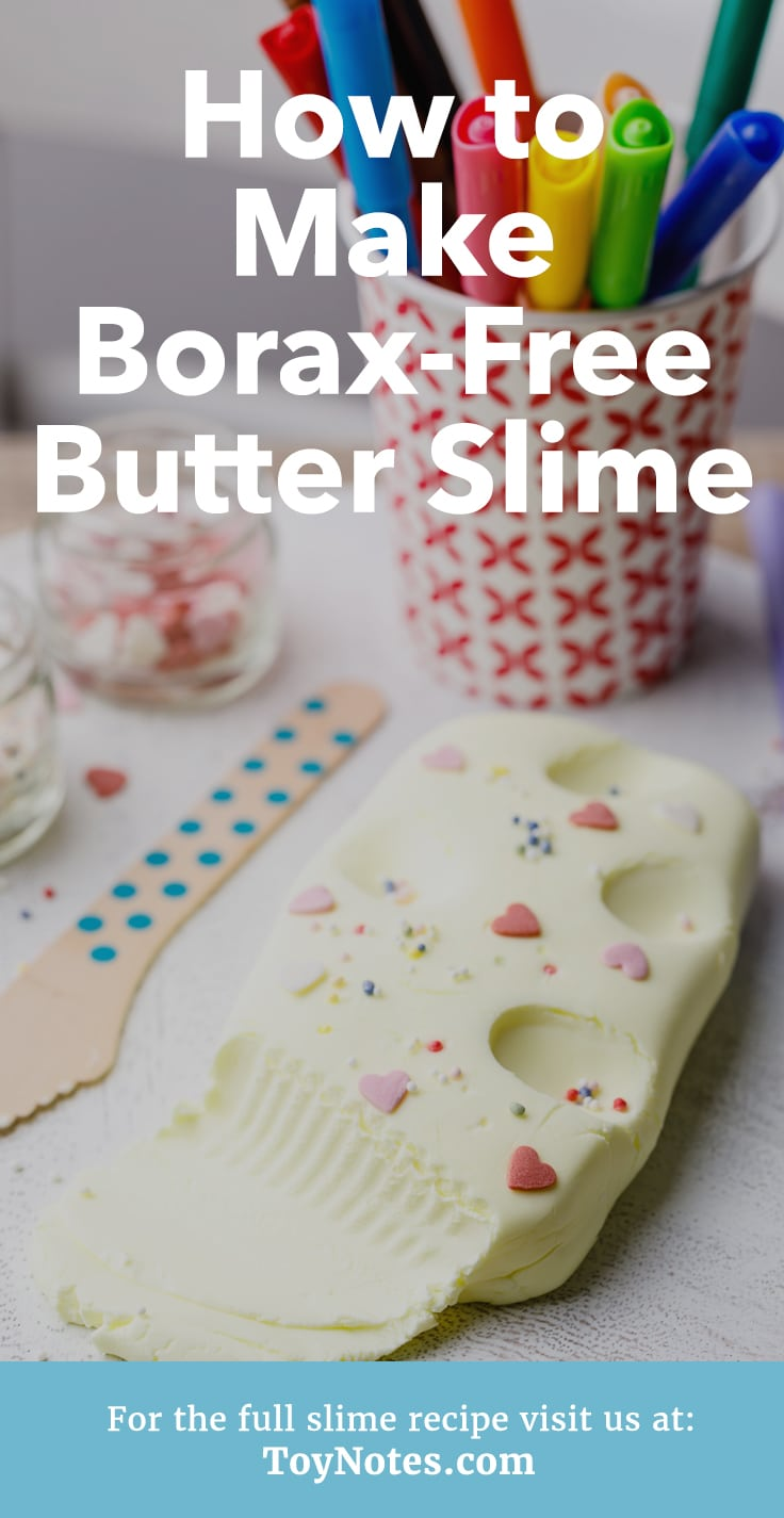 How To Make Slime With Vegetable Oil : slime, vegetable, Mind-Blowing, Butter, Slime, Cornstarch, Notes