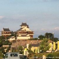 福知山城画像@東洋マーク