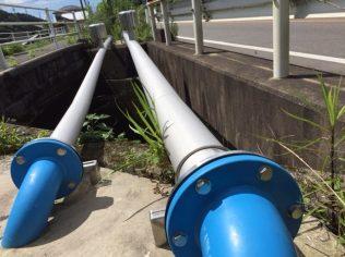 水俣市水道局 水管橋100A