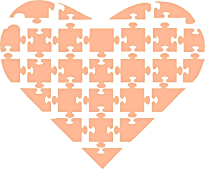 ハートのパズル