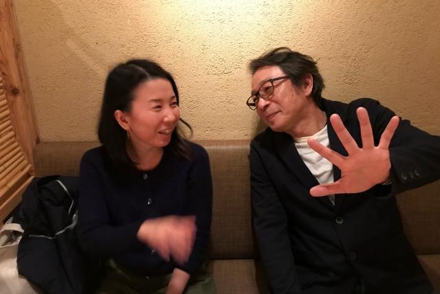 竹内社長と林カウンセラー