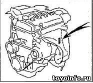 Идентификация тойота, номер двигателя Тойота