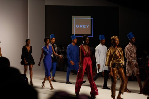 Lagos Fashion and design week 2017 ,picture by kelechi amadi-obi ,how to style a knit jacket ,how to style white and blue ,high fashion ,how to layer jewellery ,marcodevincenzo mule ,alternative style ,artistic styling ,street style inspiration ,fashion week style ,what to wear to fashion week