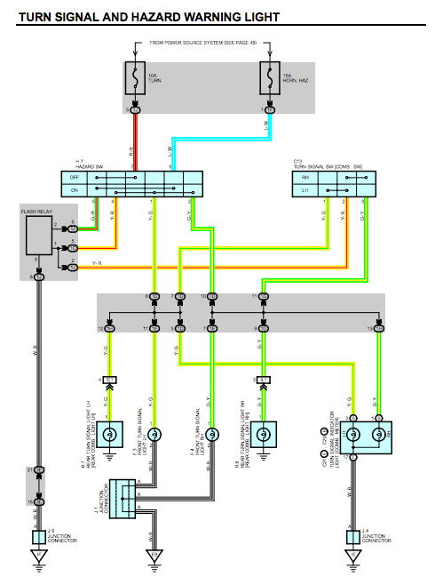Toyota Wiring Diagram Color Codes : toyota, wiring, diagram, color, codes, Signal, Color?, Toyota, 4Runner, Forum, Largest