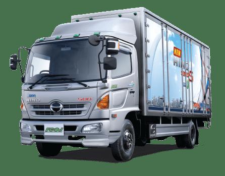 Hino busfc6-01 Series 500 Medium Duty truck