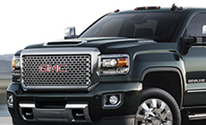 Image of the 2017 Sierra 2500 Denali HD cab, made from high-strength steels.