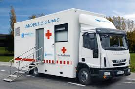 Mobile Clinics can be built on large trucks