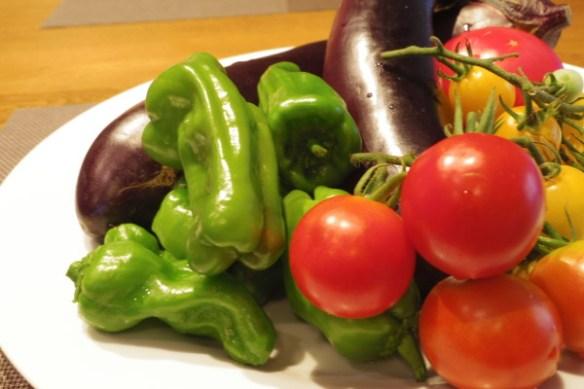 貰い物の野菜-26