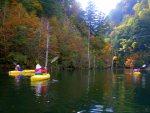 幻想的な美しさ「おんたけ自然湖のカヌーツアー」(前編)【長野県王滝村】