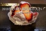 2018年の美好餅の「いちご大福」は苺が大きくて甘い【みよし市】