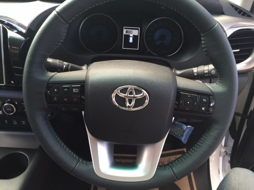 small resolution of 2016 toyota hilux revo steering closeup