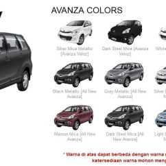 Grand New Avanza Warna Grey Metallic Lampu Indikator Spesifikasi Dan Harga 2013 Di Solo Surakarta 08975960000 Pilihan All