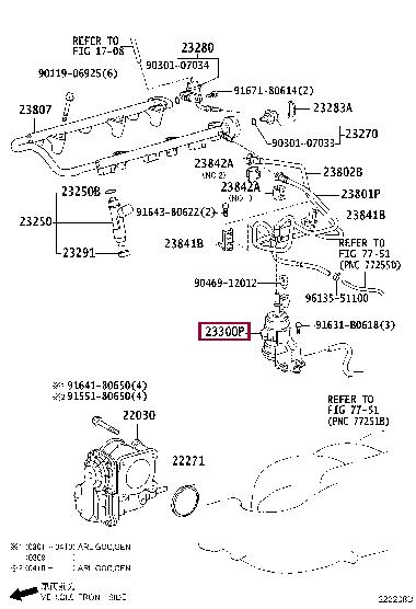Фильтры топливные Тойота Ленд Крузер Прадо