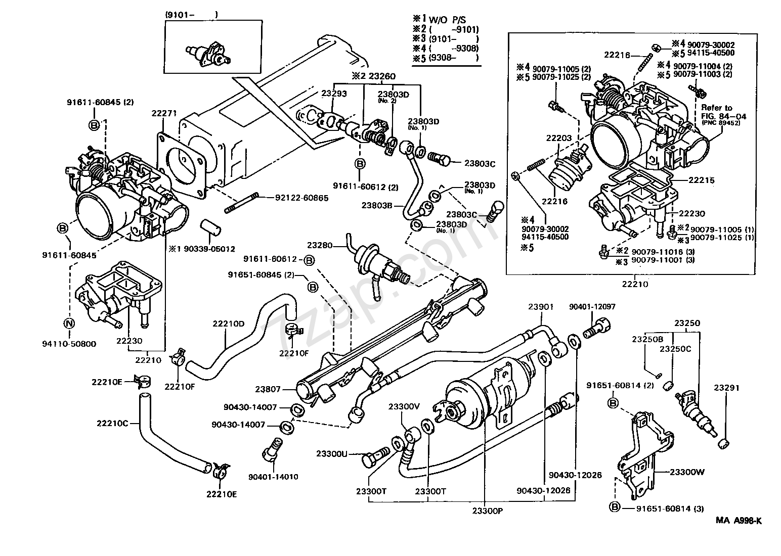 1994 Toyota Pickup 22 Chis Parts Diagram. Toyota. Auto