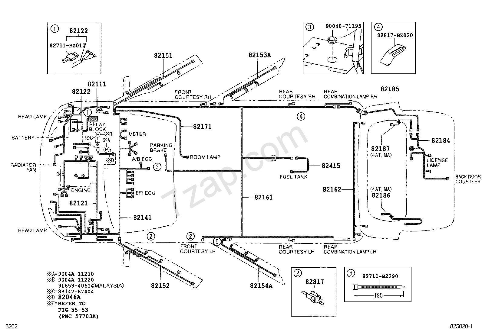 Wiring Diagrams Toyota Avanza mechanical logic gates Cable