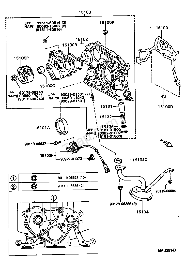 1994 Toyota 4runner Firing Order Diagram