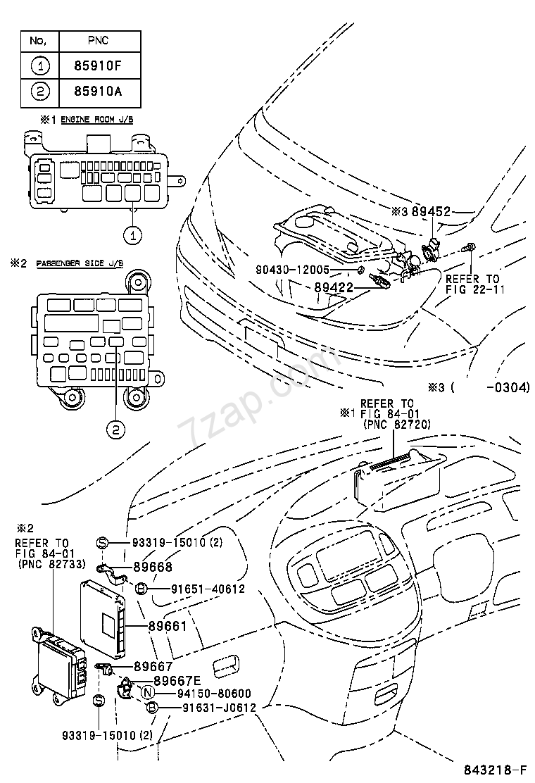 ELECTRONIC FUEL INJECTION SYSTEM TOYOTA ESTIMA [ACR30,40