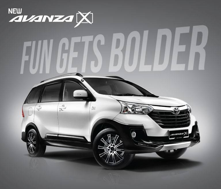 grand new avanza tipe e toyota yaris trd 2015 bekas malaysia add some zest to your life with the x complete overfenders for a more rugged look and an efficient dual