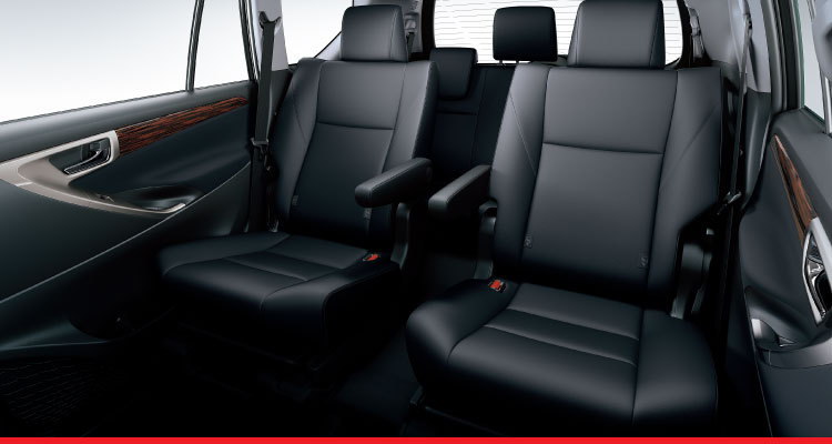 all new innova venturer interior grand avanza vs ertiga toyota malaysia 2nd row captain seats