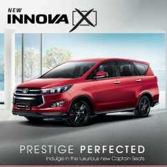 All New Toyota Kijang Innova 2019 Yaris Trd Heykers Malaysia X Unrivalled Style And Comfort