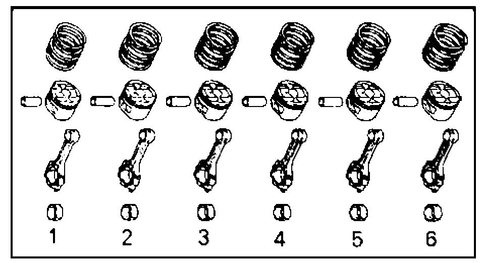 Разборка шатунов и поршней 1G-FE, 4S-FE, 1JZ-GE, 1JZ-GTE