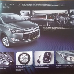 All New Kijang Innova Q Diesel Camry 2019 The Legend Reborn Mobil Toyota