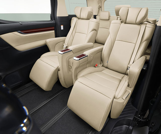 all new alphard kijang innova q diesel toyota high luxury premium comfort for captain seats