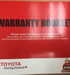 toyota warranty booklet [ 2892 x 2211 Pixel ]