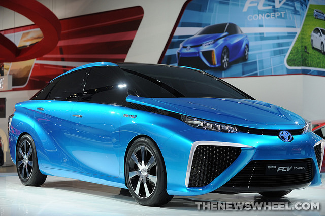 New Toyota Hydrogen Car
