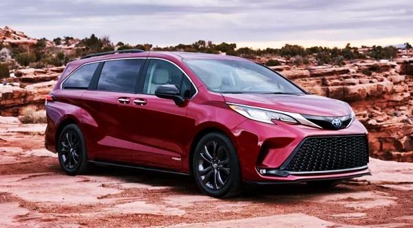 2022 Toyota Sienna Hybrid Redesign, Price, Release Date