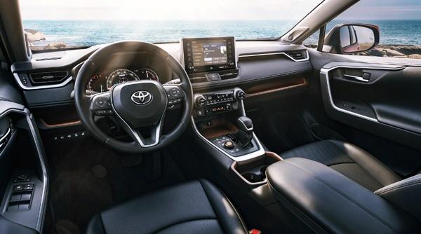 2022 Toyota RAV4 Hybrid Interior