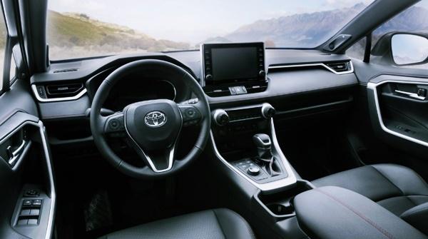 2022 Toyota RAV4 Prime Interior