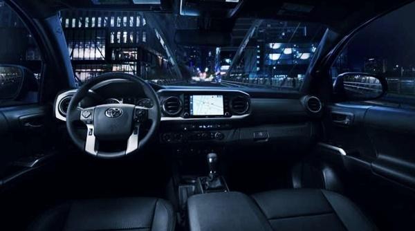 2022 Toyota Tacoma Nightshade Interior
