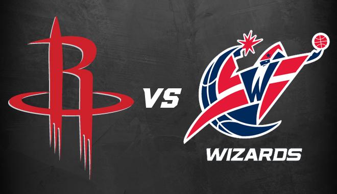 Houston Toyota Center  Houston Rockets Vs Washington