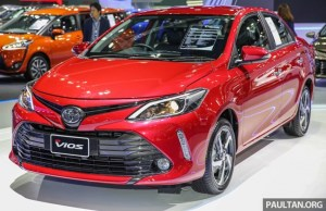 Vios Facelift Ramaikan Bangkok International Motor Show