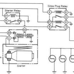 1996 Land Cruiser Wiring Diagram Cheetah Anatomy Starting System Circuit - Toyota Engine Repair