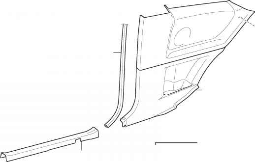 Type 2 Manual Seat Belt Assembly