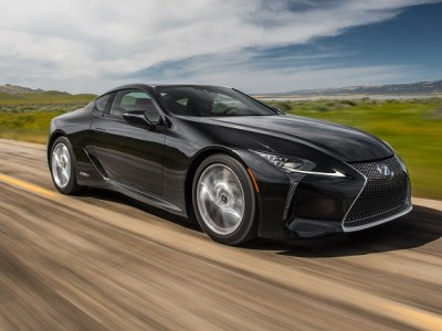 2018 Lexus LC 500h review