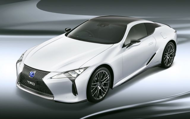 2018 Lexus LC TRD front view