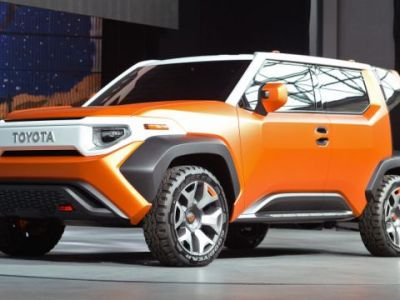 2018 Toyota FT-4X front