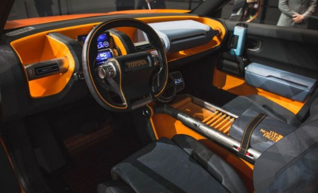 2018 Toyota FT-4X interior
