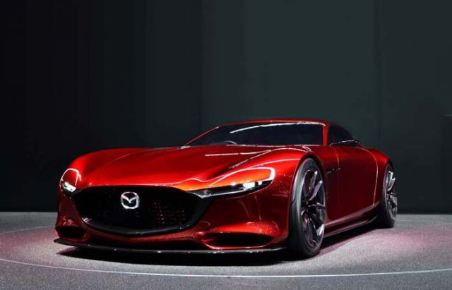 2018 Mazda RX7 front