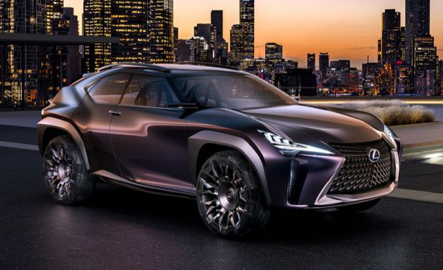 Lexus UX250h and 7-seater RX450hL