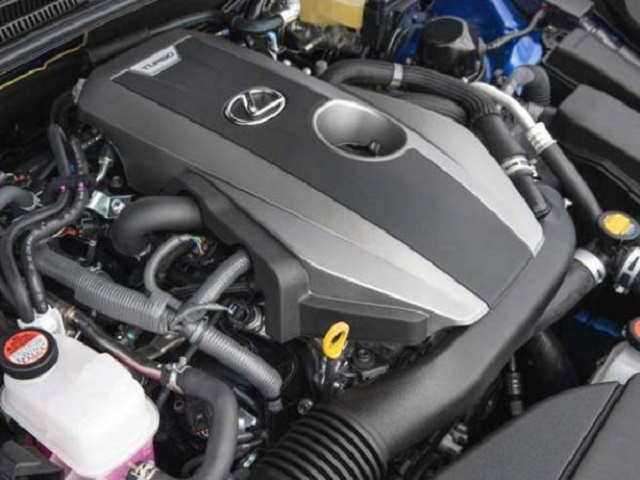 2018 Lexus RC 200t engine