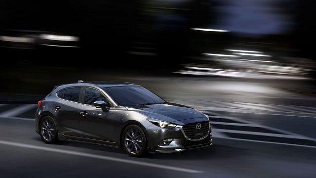 2019 Mazda 3 side view