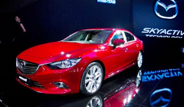 2019 Mazda 6 front view
