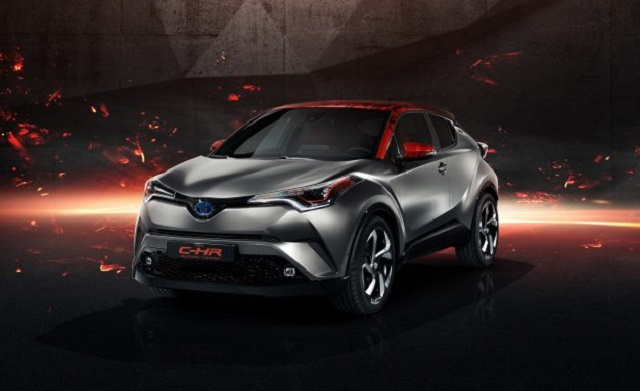 Toyota C-HR Hy-Power Concept front view