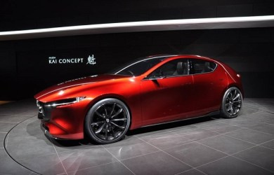 2019 Mazda 3 comes with Kai Concept front view