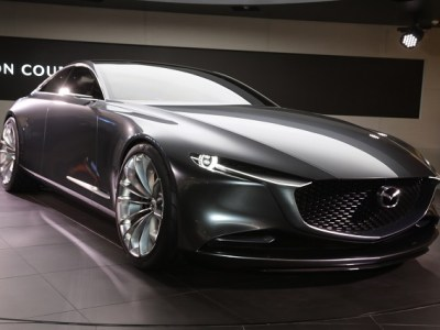 Mazda Vision Coupe front view