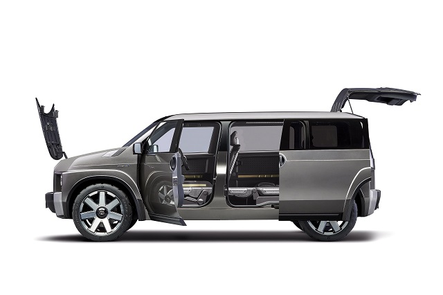 Toyota Tj CRUISER Concept side view